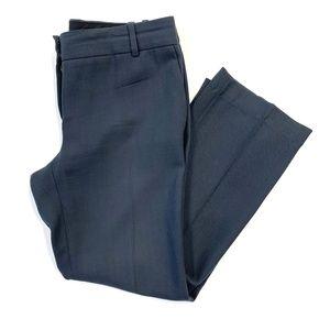 J. Crew Charcoal 100% Wool City Fit Pants